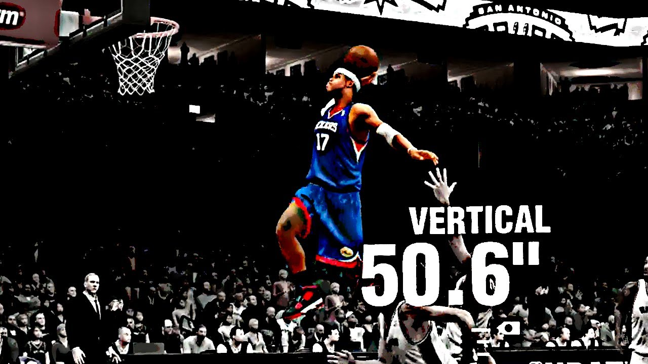Nba 2k14 Ps4 My Career 50 Inch Vertical Youtube