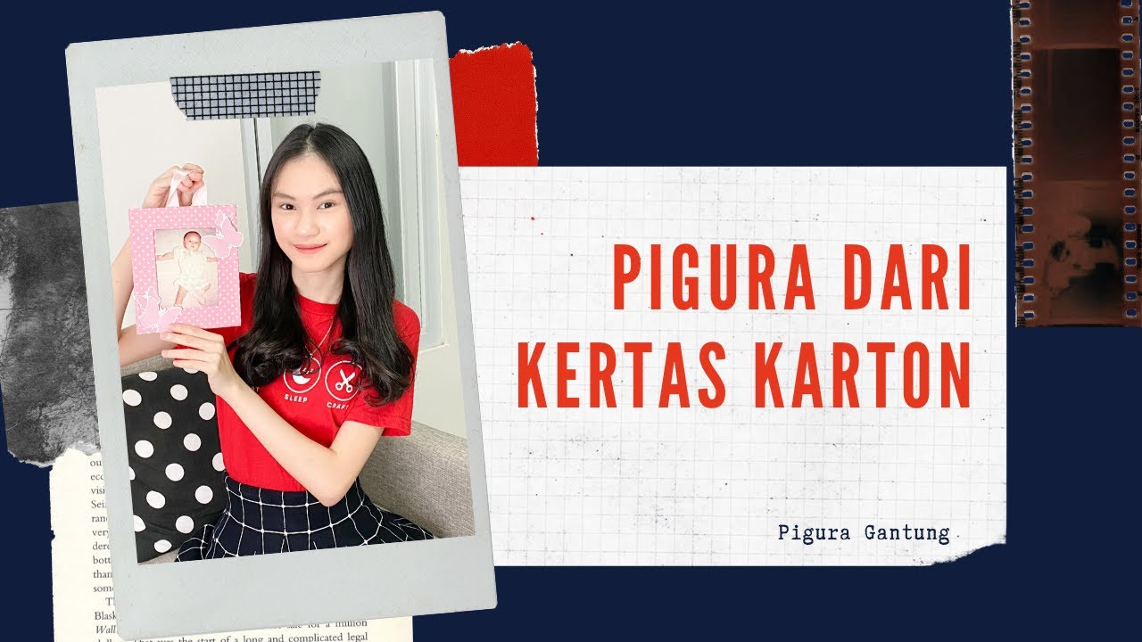 CARA MEMBUAT PIGURA DARI BAHAN KERTAS KARTON (PIGURA ...