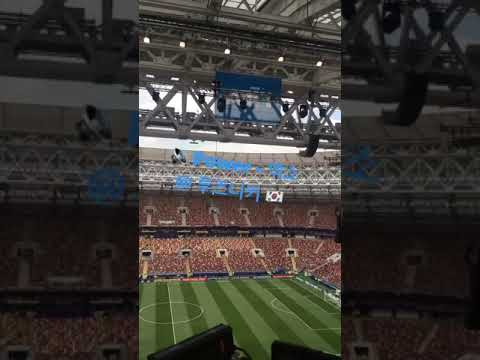 EXO POWER played at FIFA WORLD CUP FINAL