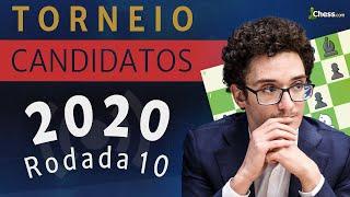 Dia de LUTA entre os CANDIDATOS - Torneio De candidatos 2020/2021 - Rodada 10