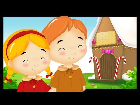 Hansel et Gretel - l'histoire en dessin animé et la comptine - Monde des titounis