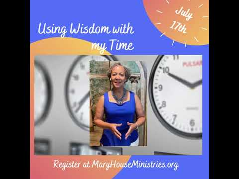 Using Wisdom with my time video