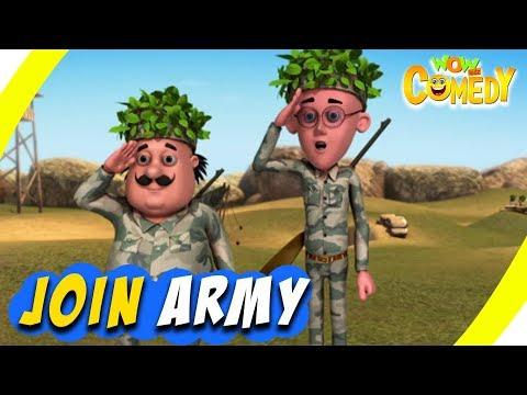 Motu Patlu Ep 30B Join Army 11 Jan