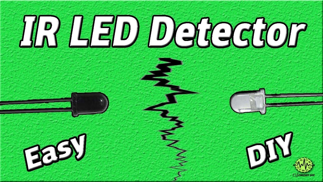 ir detector project ir sensor photo diode circuit easy electronic [ 1280 x 720 Pixel ]