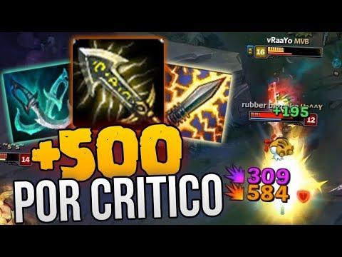¡SPLITPUSH SIN CONTROL! - ¡+500 DE DAÑO POR CRITICO! | TRYNDAMERE TOP RUNAS NUEVAS