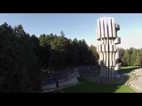 Kozara - Mrakovica - 2014. - Airial video - Snimak iz vazduha