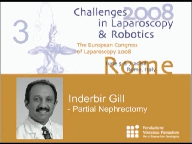 CILR 2008 - Inderbir Gill - Partial nephrectomy