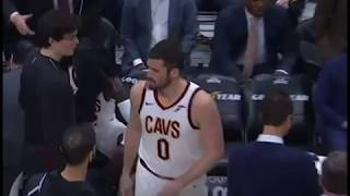 Kevin Love Throws Towel At Jeff Green 😂😂😂