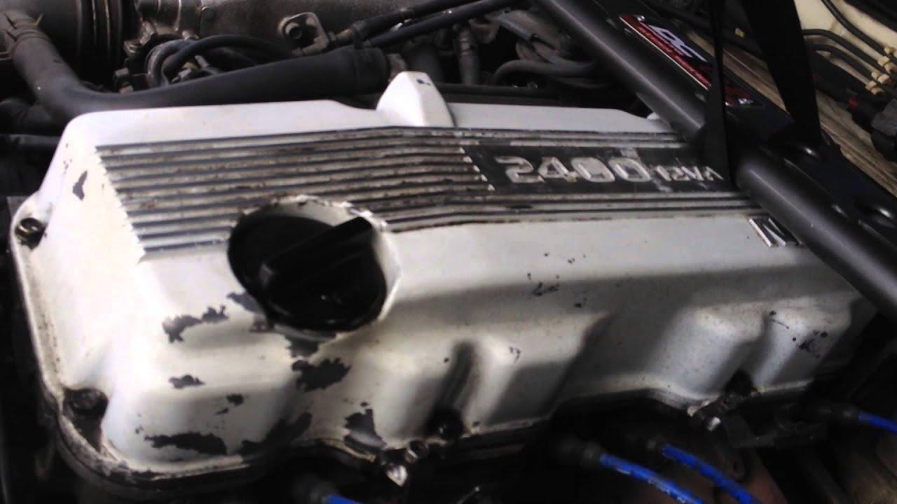 1989 Nissan 240sx Ka24e Engine Smoking  240k Miles