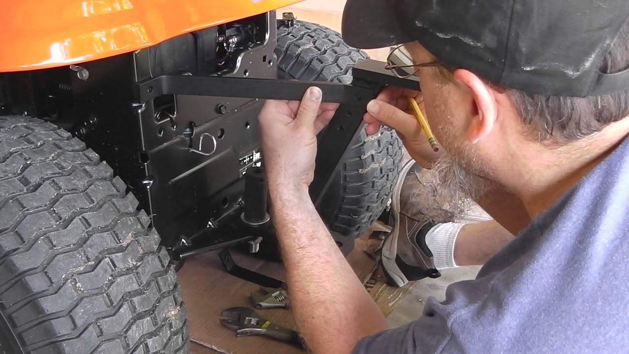 Installation Lawn Pro Hi Hitch Lnphh650 On Ariens