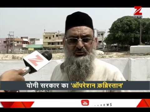 What is Yogi Adityanath's 'Operation Kabristan?'