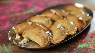 How To Make Baked Gujiya | Diwali Special | Baked Karanji Recipe | Beat Batter Bake With Upasana