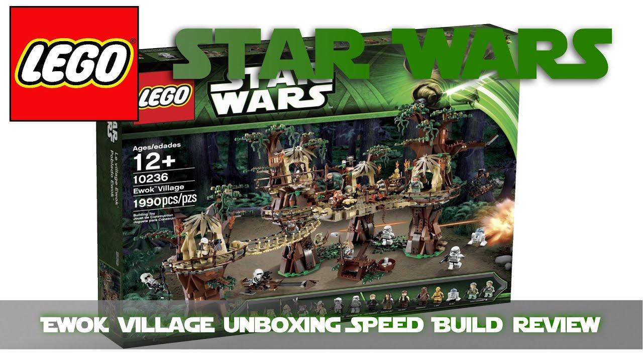 Ewok Village Treehouse Toy Disney Starwars Endor Adventure Ewok
