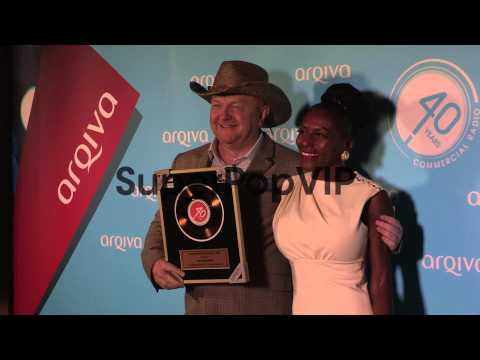 Alan Robson at the Arqiva Radio Awards at Westminster Bri...