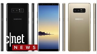 Is this the Galaxy Note 8? (CNET News)