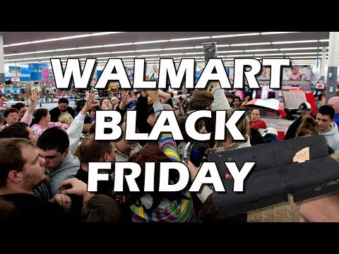 Tales from Retail: Walmart Black Friday Wackiness