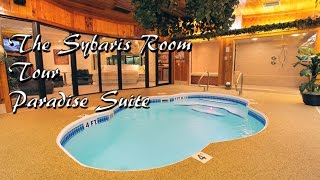 The Sybaris Paradise Swimming Room Suite Tour