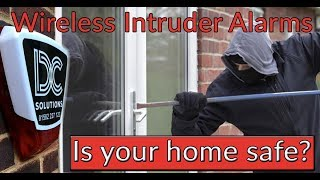 DC Security Solutions - Wireless Alarms for Home or Business - Our Way Keeps the Intruders Away!