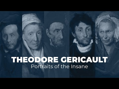 THÉODORE GÉRICAULT: Portraits Of The Insane