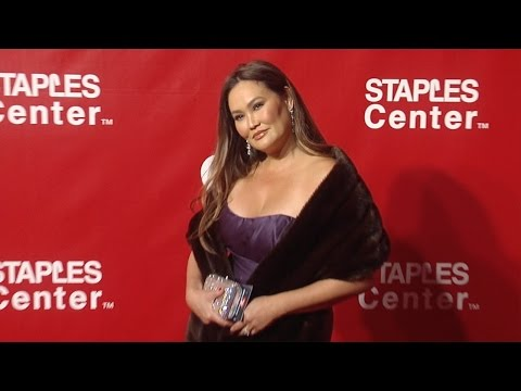 Tia Carrere MusiCaresPOTY Gala Red Carpet in Los Angeles