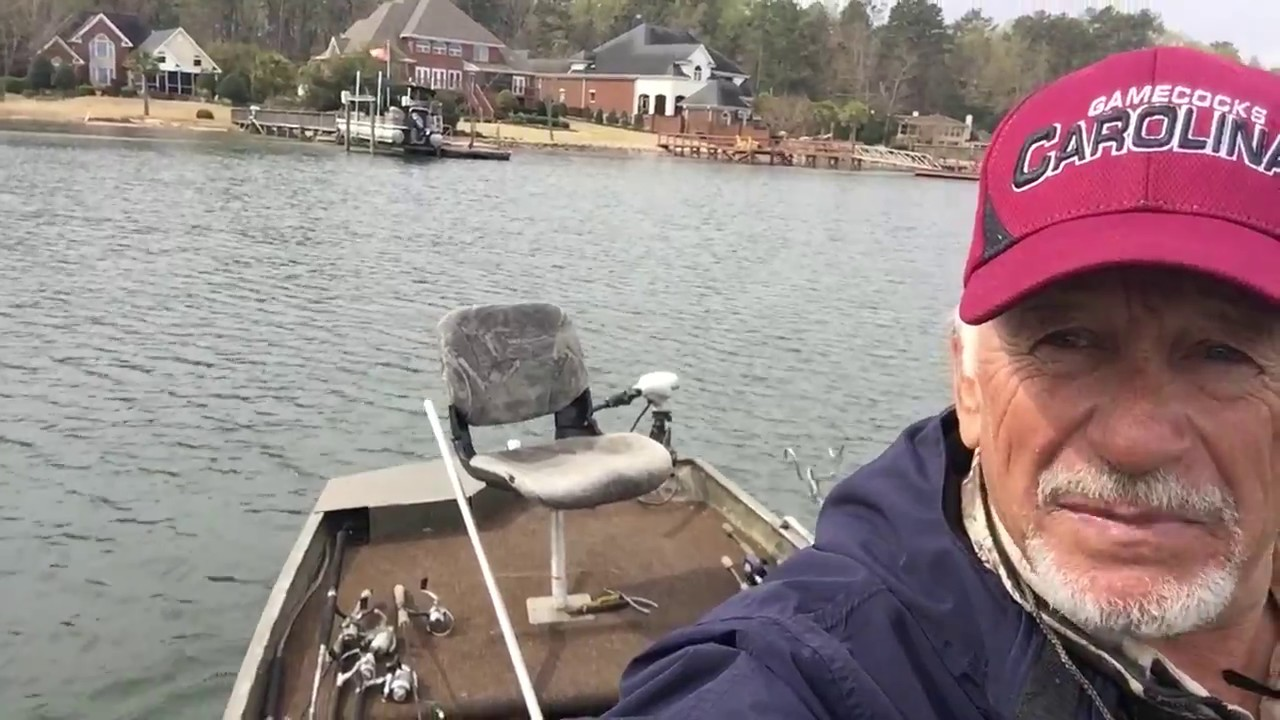 Crappie fishing on lake murray sc youtube for Lake murray fishing report