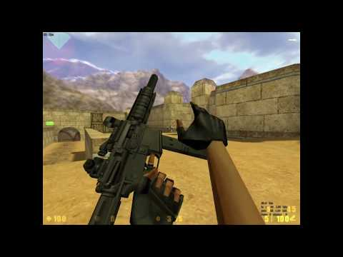 All Weapons - Counter Strike 1.5 GvA Clan Mod [Full HD]