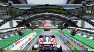 TrackMania Nations Forever Gameplay (2/4)