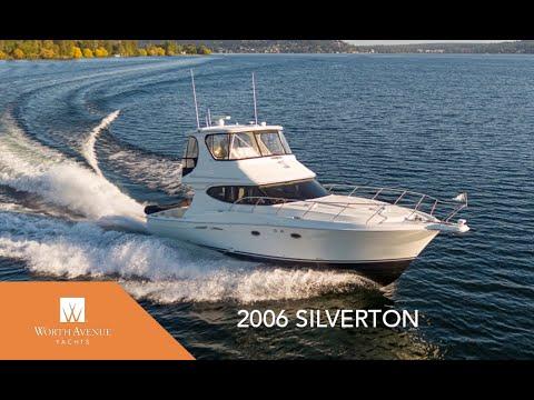 45-Foot Silverton Motor Yacht VIVA III For Sale