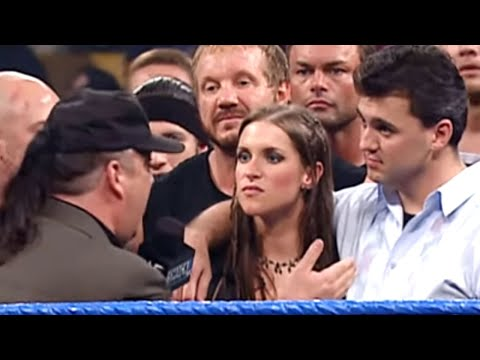 SmackDown 7/19/01 - Part 1 of 8, Shane and Stephanie McMahon lead the WCW & ECW Stars thumbnail