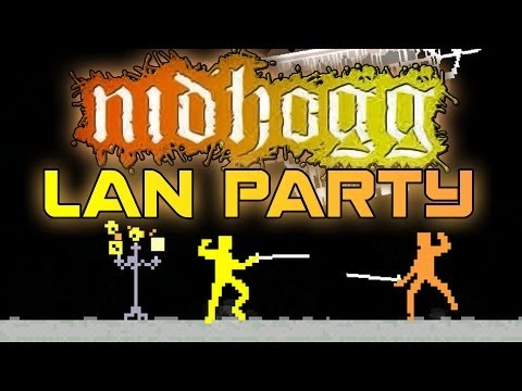 Nidhogg 'King of the Hill' - LAN Party