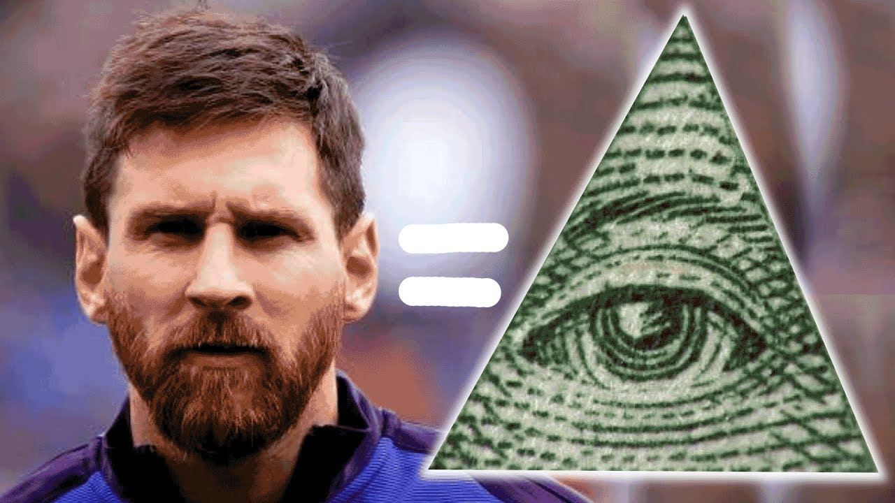 Lionel Messi is Illuminati
