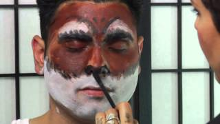 Instructions for Werewolf Makeup : Beauty Vice