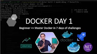 Docker - Containerize dotnet application with multi step dockerfile and azure pipelines AzureDevOps