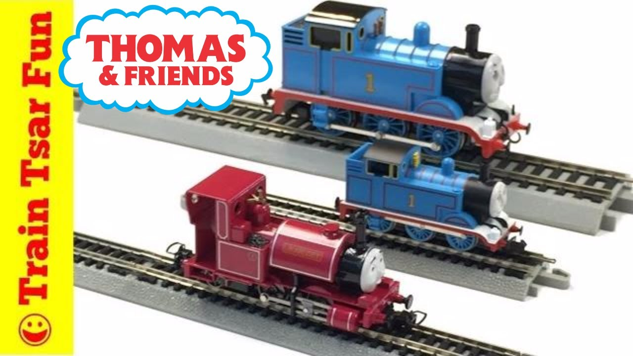 c19480b20eb NEW BACHMANN TRAINS HO SCALE Thomas   Friends Locomotive Runs on N Scale  Track