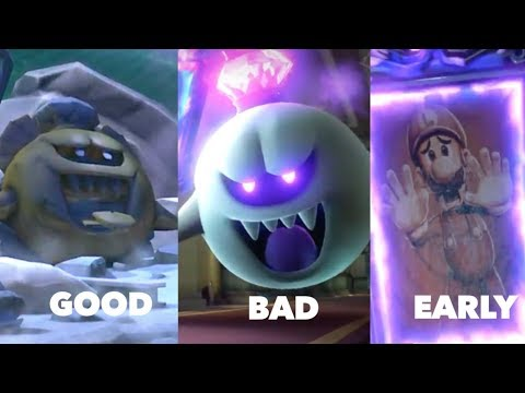 Luigi's Mansion 3 All Three Endings (Good,Bad,Early)