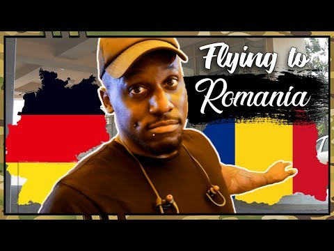 American First Time in ROMANIA | WHY I H8 Airports 😱 (Germany ✈️ Romania)