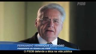 Comercial do PSDB com Fernando Henrique Cardoso e Pedro Tobias