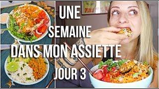 GALETTES DE POIS CHICHES & DHAL DE LENTILLES ** 1 semaine dans mon assiette #3