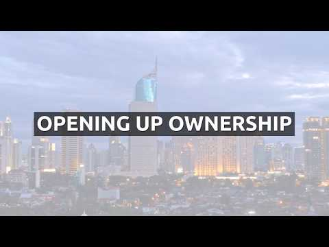 The Opening Up Ownership Conference in Jakarta