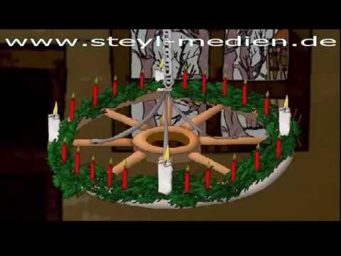 Adventskranz von johann wichern
