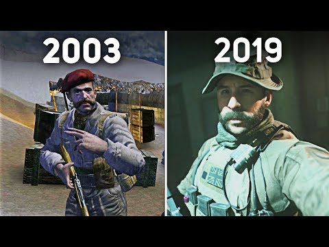 Evolution Of Captain Price In Every Call Of Duty Game (2003 - 2019)