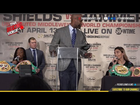 🔥UNCENSORED; CLARESSA SHIELDS CHRISTINA HAMMER PRESS CONFERENCE