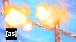 Michael Bay Presents Explosions  Robot Chicken  Adult Swim