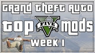 GTA 5 PC MODS - RAGDOLL, FLYING, RIOT MODE AND MORE! (GTA V PC MODS - WEEK 1)