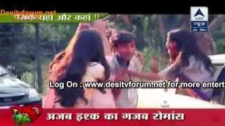 Raj And Avni Ki Pheli Holi - Aur Pyaar Ho Gaya SBS 26th March 2014