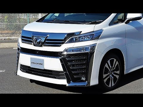 2019 Toyota Vellfire - The Luxury Minivan