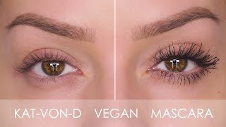 Extreme Volume Vegan Mascara - Kat Von D Review   Shonagh Scott
