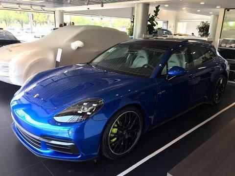Primeiro Porsche Panamera 4 E-Hybrid Sport Turismo de Brasília