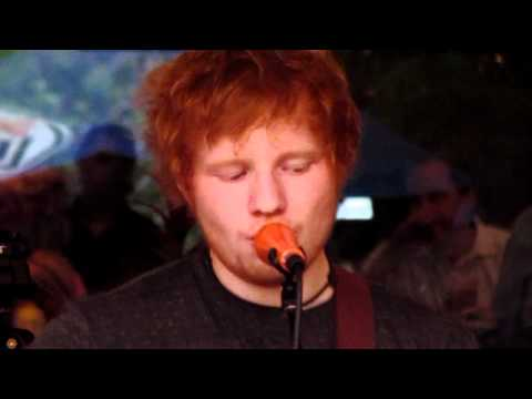 Ed Sheeran Little Bird Live 6.14.2012 Excelsior, Minnesota
