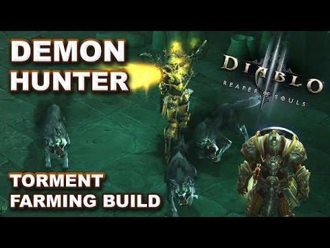 Diablo  Demon Hunter Torment  Build